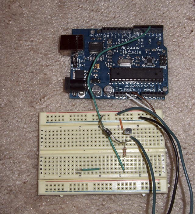 hobby robotics using relays arduino turning on the lights the cost to build the circuit below should be under 15 dollars and half of that is for a cheap extension cord radioshack or online electronic stores will