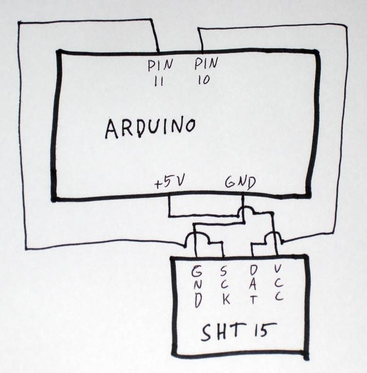 hobby robotics sht15 humidity and temperature sensor circuit diagram